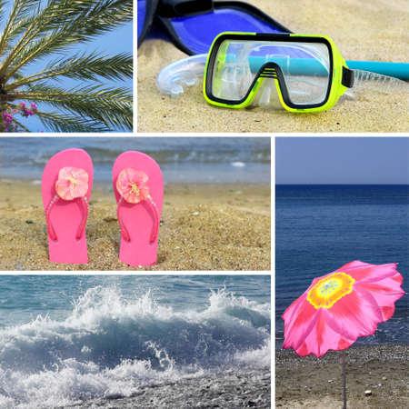 Resort collage5 - beach