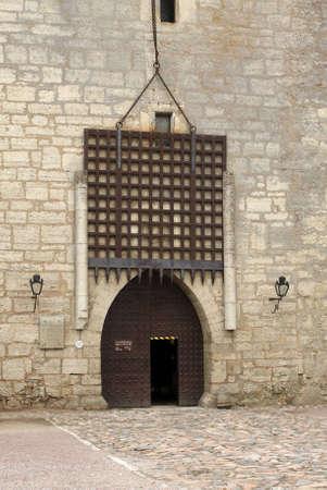 episcopal: Kuressaare Episcopal Castle entrance, Saaremaa