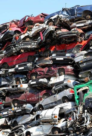 ferraille: Junkyard voitures