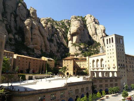 Montserrat monastery, Spain photo