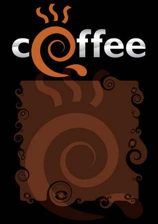 Menu de formulaire caf�. Pour utilisation dans les caf�s et les restaurants.