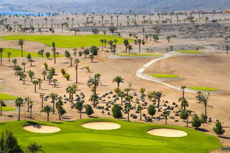 Egypt, the Arabian Peninsula, Taba. Golf Course