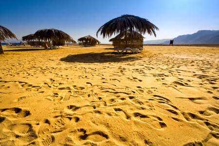 Beach Red Sea. Egypt. Sinai. Taba Stock Photo