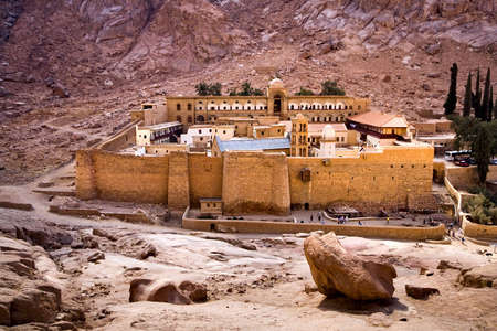 Saint Catherines Monastery on the Sinai Peninsula, Egypt