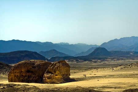 Landscape in the Sinai,Egypt.