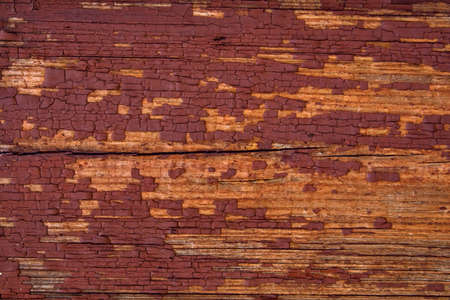 Panneaux en bois avec de la peinture craquel�e Banque d'images