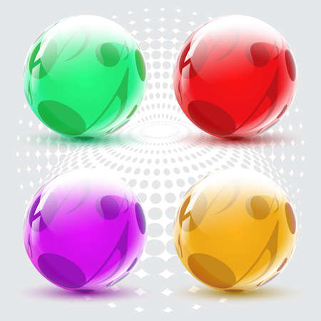 shiny ball on a musical theme featuring music