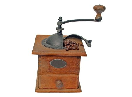 old coffee mill Stock Photo - 8776252