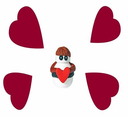 Chap of love Stock Photo - 8776254