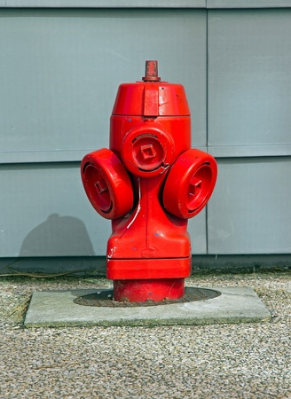 fire hydrant for firefighters  city suburb of Paris France