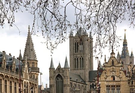 gent: gent historic    Flanders, Belgium