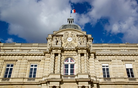 the Senat Paris France Stock Photo