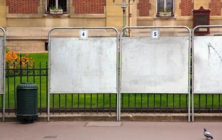パリ ・ フランス ・ ヨーロッパの近くの町で選挙の印