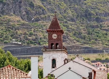 xv century: Church of Machico  XV century  Madeira Stock Photo