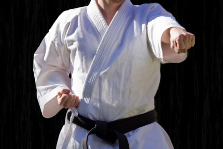 Judo rank of the centure black