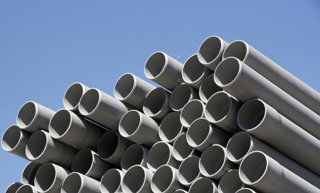 plastic pipes, zone of storage