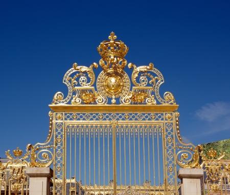 フランス ヴェルサイユ宮殿王室ドア 報道画像