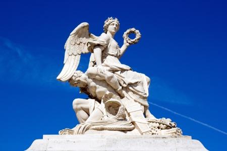 Victoire abattre son ennemi, Château de Versailles 17 ème Banque d'images - 17214967