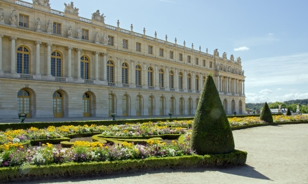 Formal garden, Palace of Versailles  France  Stock Photo - 17327188