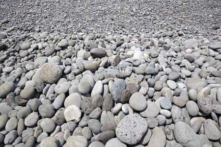 a pebbles beach, the island of Madeira