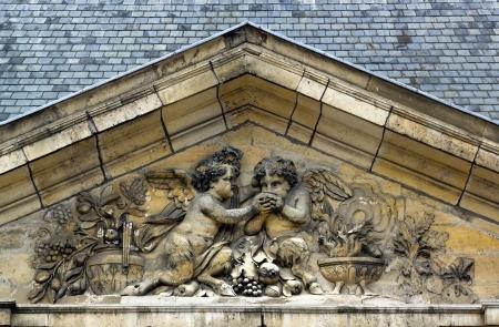 Anges à pieds de bouc, bacchanales Banque d'images - 18193099