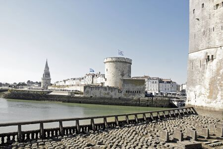 impregnable: La Rochelle, Tower of the Chain, Tower of the chain does. (Charente-Maritime) France