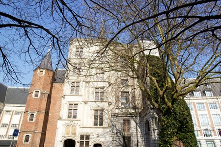 pas: Rihour Palace, Seventeenth Century. Lille (Northern France) Editorial
