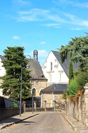 アンジェ、聖ヨハネ病院、タペストリー博物館ペイ ・ ド ・ ロワール フランス 報道画像