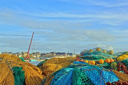 st  malo: St Malo, between the threads of the fishing port Brittany France