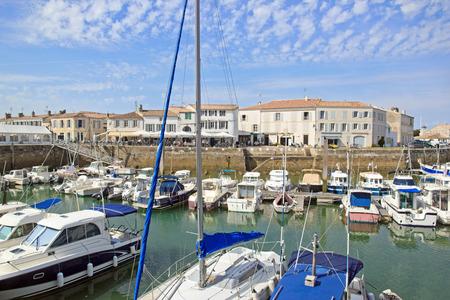 Marina of Saint Martin de R La Rochelle, France