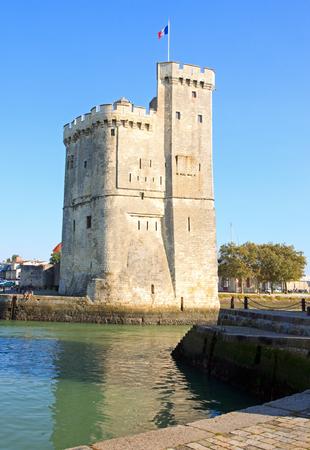 La grande tour de La Rochelle (Charente-Maritime, France)