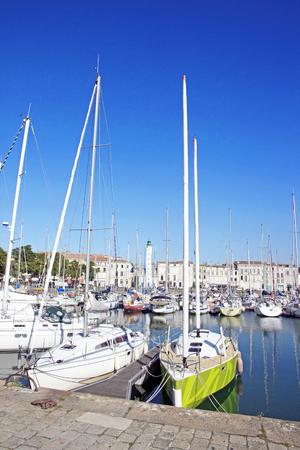 Le port de plaisance de La Rochelle (France)