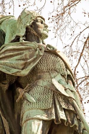 Olivier, seigneur du Moyen Age, seigneur de Charlemagne (France) Banque d'images