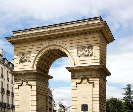 La Porte Guillaume à Dijon, arc de triomphe en Bourgogne (Dijon, Bourgogne, France)