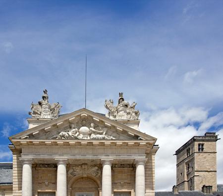 Palais des Ducs et Tour Philippe Le Bon (Dijon, Bourgogne, France) Éditoriale