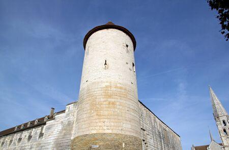 La tour St Jean, Abbaye St Germain à Auxerre (Bourgogne, France)