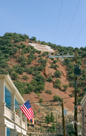 B as Bisbee, old mining city - Arizona -  United States