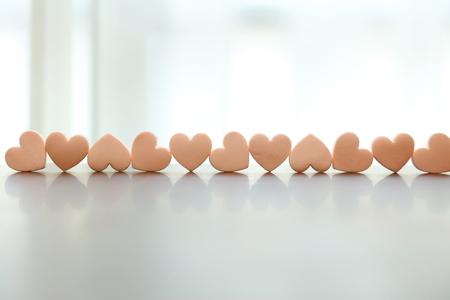 Heart objects Stock Photo