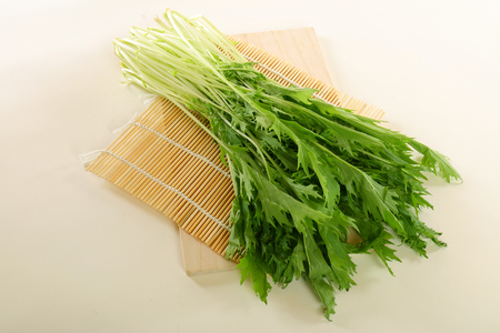 Healthy vegetable  Mizuna