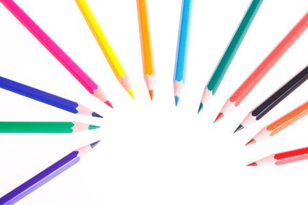 Colorful colored pencil Zdjęcie Seryjne