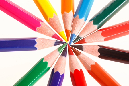 Colorful colored pencil Reklamní fotografie