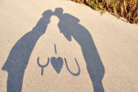shadows of lovers  photo