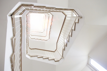 Stairs inside an office building  photo