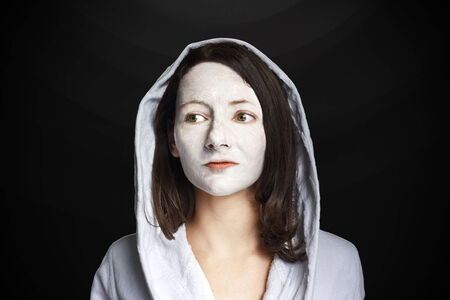 Woman Portrait facemask  photo