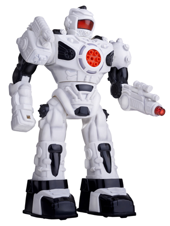 High resolution stylish robotic toy 스톡 콘텐츠