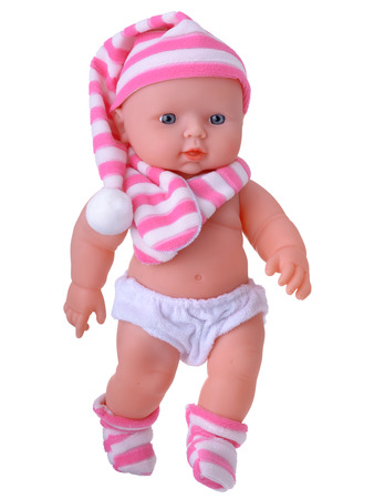 Baby Doll toy in nightcap