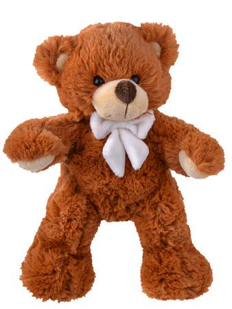 테디 흰색에 고립 된 곰 스톡 콘텐츠 - 32065333