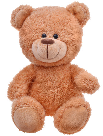 bears: brown teddy bear Stock Photo