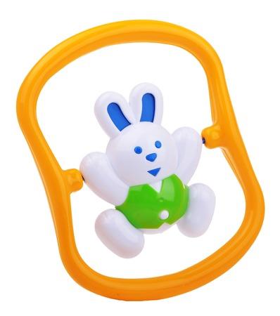 sonaja: colorido sonajero beb� conejo