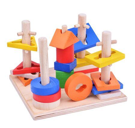 lógica: utensilios de juego de puzzle de lógica Woden